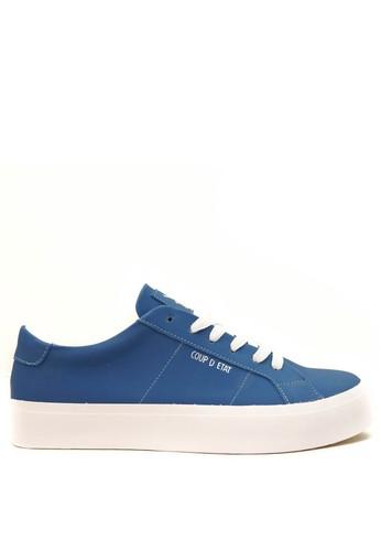 CDE blue CDE Walter Men Sneaker Indiana Blue 475DESH9BA1FAAGS_1
