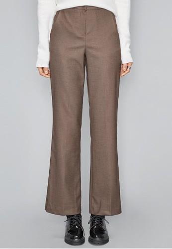 簡約風esprit 包長款西褲, 服飾, 直腳褲