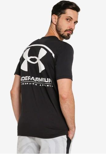 Under Armour black Performance Big Logo Tee 316F2AA2BAF6AAGS_1