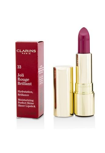 Clarins CLARINS - Joli Rouge Brillant (Moisturizing Perfect Shine Sheer Lipstick) - # 33 Soft Plum 3.5g/0.1oz 63B79BEAEAF3F8GS_1