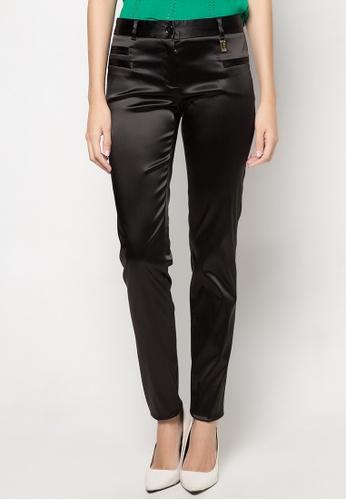Dolce & Gabbana black Slim Fit Trousers DA093AA54TORPH_1