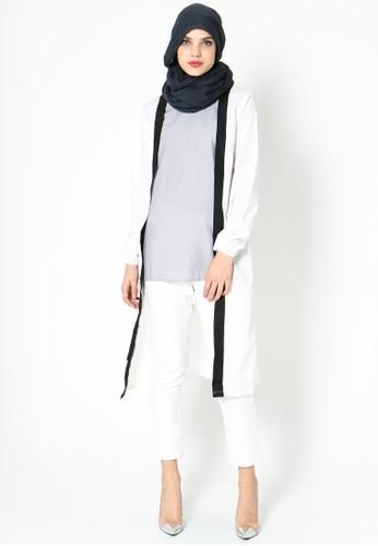 Naima White Tunic