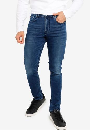 Calvin Klein blue Wash Skinny Jeans - CK Jeans B32E5AA015AB75GS_1