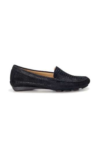 Shu Talk black AMAZTEP Hollywood Celeb Hot Slip On Comfortable Driving Loafer Shoes 8A75DSH383C5CAGS_1
