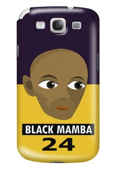 Black Mamba Matte Hard Case for Samsung Galaxy S3