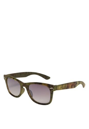 MANGO KIDS beige Acetate Frame Sunglasses F5F21KC8CEAD49GS_1