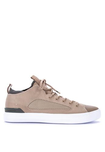 Converse green Chuck Taylor All Star Ultra Lightweight Textile Sneakers 73D2CSH13B4DC7GS_1