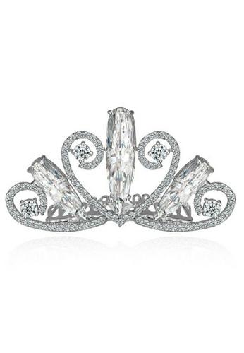 Vivere Rosse silver Vivere Rosse Princess Jocel Tiara / Crown VI014AC0S045MY_1