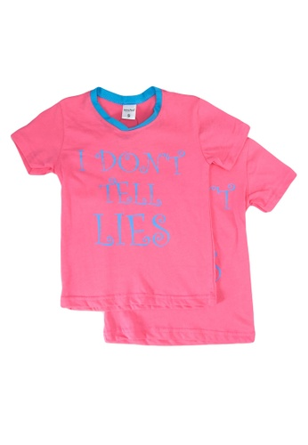 UniqTee pink I Don't Tell Tee 2-Pack F4BFDKA0CDF2DCGS_1