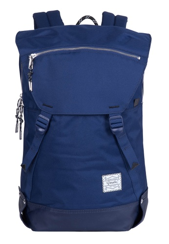 Caterpillar Bags & Travel Gear navy Essential Rebel Backpack L CA540AC01EHQHK_1