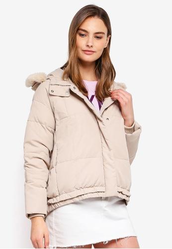 ESPRIT beige Outdoor Woven Regular Jacket F42C2AACE56CA3GS_1
