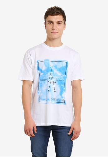 Factorie white Original Amped Tee FA880AA0RY9SMY_1