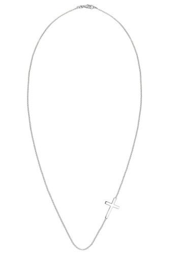 ELLI GERMANY silver Necklace Women Necklace Cross Symbol C5762ACE84967DGS_1