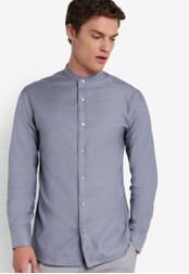 Selected Homme blue Slim Fit Shirt SE364AA77QVQMY_1