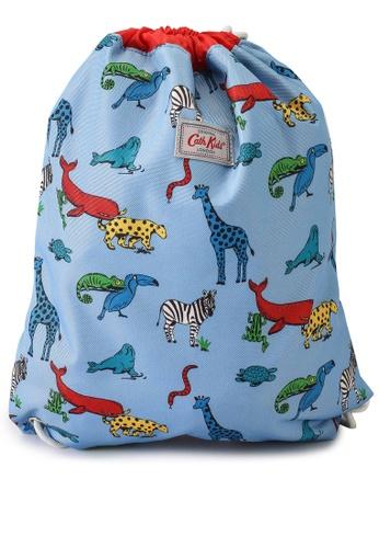 Cath Kidston blue Animals Kids Drawstring Bag 45AE6KC85981F2GS_1