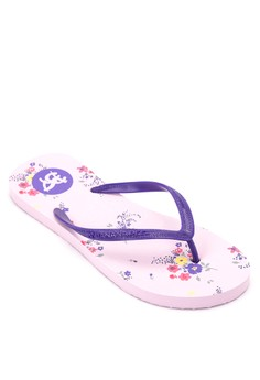 Floral Crush Blomst-Slippers Flip Flops