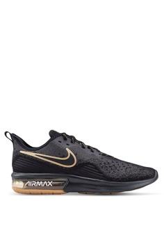 d3cc132c14348f Nike black Nike Air Max Sequent 4 Shoes 52D41SHA7A1840GS 1