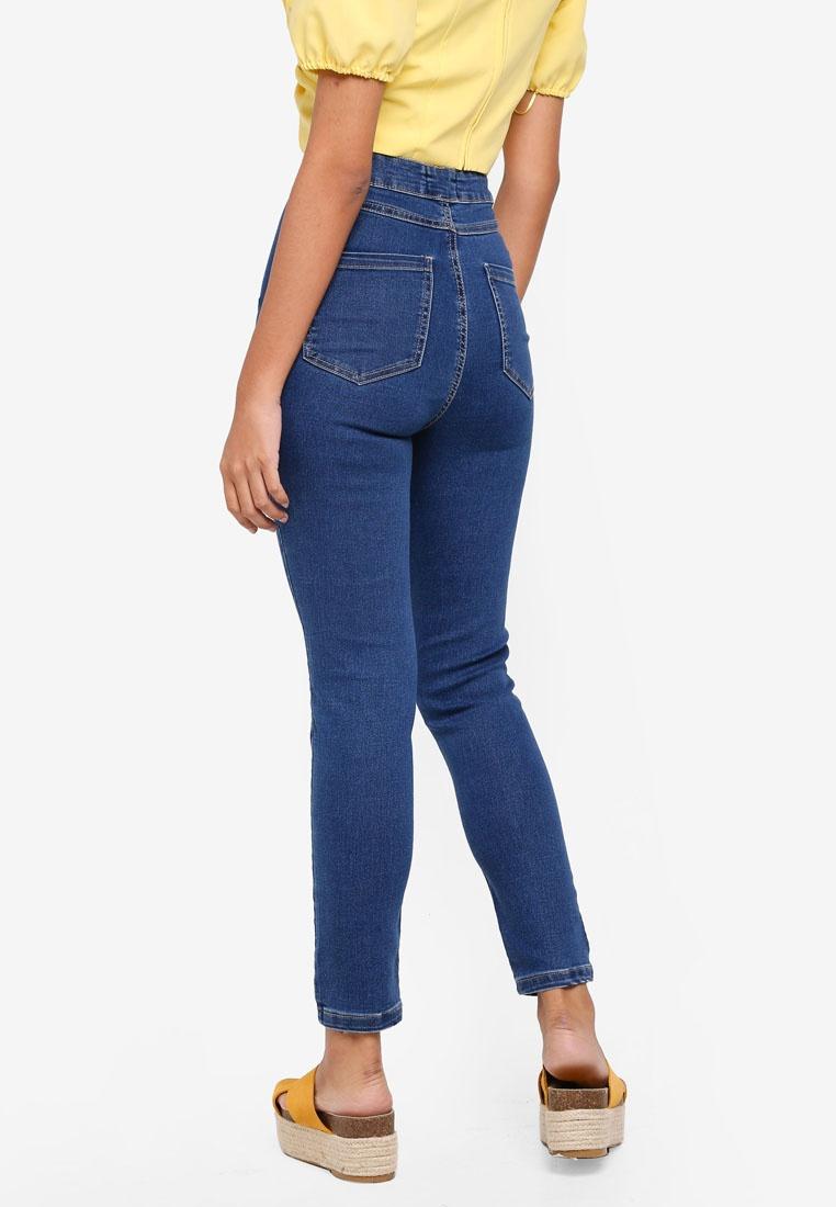 The Factorie Blue Stretch High Super Jeans qCdCa