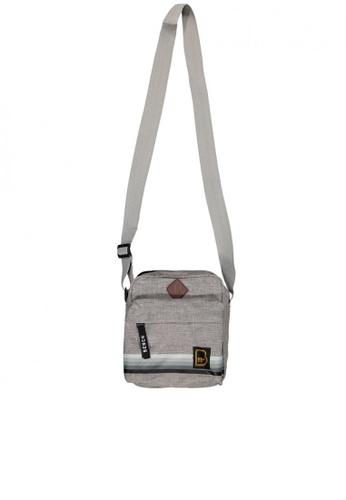 BENCH grey Small Sling Bag 9AC38AC23B095CGS_1