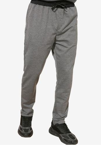 Trendyol grey Regular Fit Trousers ECBCCAA10D9638GS_1