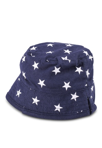 FOX Kids & Baby navy Baby Boy All Over Print Hat A4B77KCA050E85GS_1