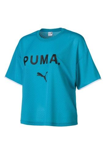 PUMA Chase Women's Mesh Tee 8EDDFAA476BA48GS_1