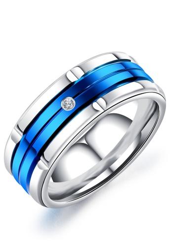 Trendyshop blue Men's Fashion Ring 97E96ACC33B926GS_1