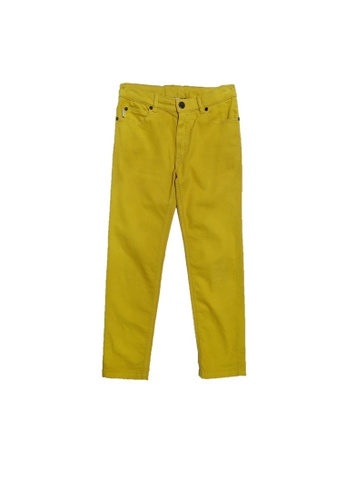 PAUL SMITH JUNIOR yellow PAUL SMITH JUNIOR BOYS TROUSERS 53B03KA7D6CA0BGS_1