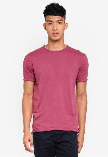 Only & Sons purple Albert Washed O-Neck T-Shirt A6D52AA2F979F5GS_1