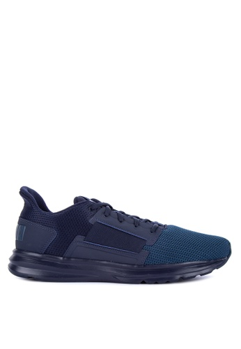Puma navy Enzo Street Training Shoes 7C50DSHD7CFF26GS_1