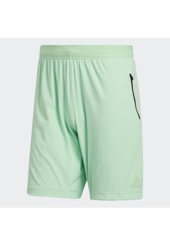 ADIDAS green adidas HEAT.RDY 9-Inch Shorts 79790AA09A6432GS_1