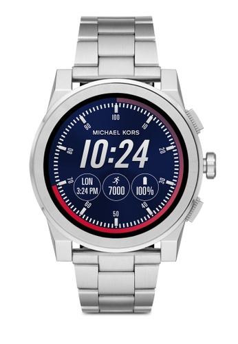 MICHAEL KORS silver Michael Kors Grayson Silver Smart Watch MKT5025 MI165AC0SM3XMY_1