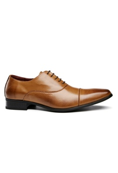 1f5146b347c5 Kings Collection brown Perugia Cap Toe Derby Shoes 0616FSH81B4528GS 1
