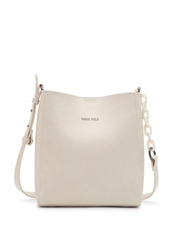 Swiss Polo beige Mall Sling Bag 1840EACE4EE1CDGS_1