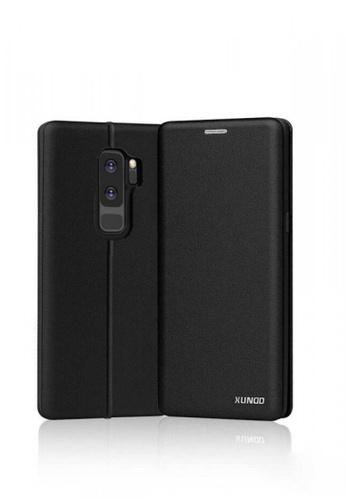 MobileHub black XUNDD Saina Folio Case For Samsung Galaxy S9 Plus 32438ACDA38F06GS_1