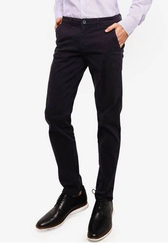 OVS navy Formal Trousers F74F7AA051E5EAGS_1