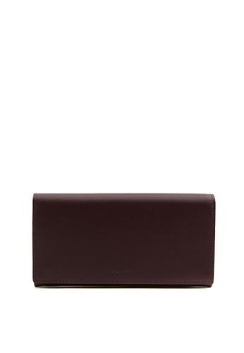 Enjoybag brown Calf Split Calf Leather Long Wallet 37A61AC11EB7FAGS_1