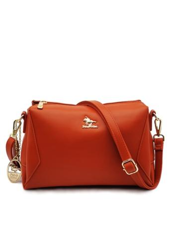 POLO HILL brown Polo Hill Envie Crossbody Sling Bag 73F2BAC140E655GS_1