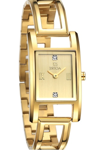 ZECA gold Zeca Watches Ladies Fashion Stainless Steel Analog - 146L Gold 80CFFAC831C179GS_1