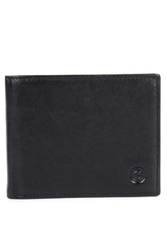 Billfold with Detach Flap Leather Wallet