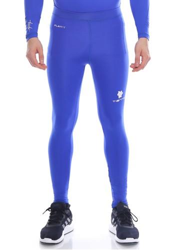 Jual Tiento Tiento Man Long Pants Blue Celana Legging Pria Olahraga Renang Sepakbola Lari Original Original Zalora Indonesia