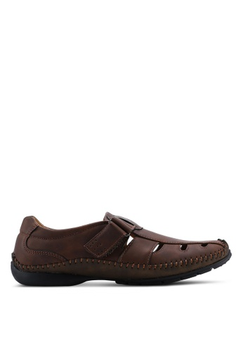 Louis Cuppers brown Louis Cuppers Sandals 3035CSH92F3159GS_1