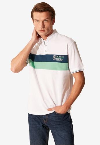 LC Waikiki white Striped Polo Shirt C1E91AA94FC74EGS_1