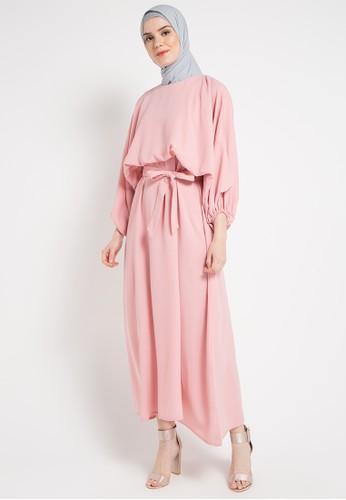 harga Peasant Long Dress Gamis Zalora.co.id