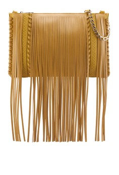 Fringed Cross Body Handbag