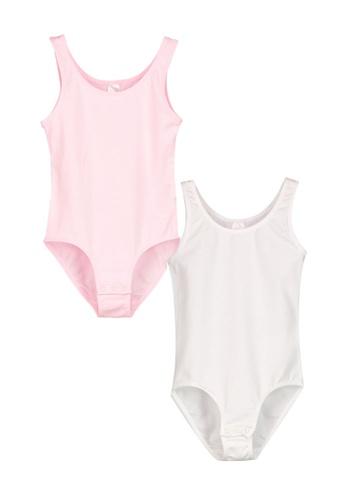 LC Waikiki white 2-Pieces Cotton Snap Bodysuits 88F5DKAB6F7CF9GS_1