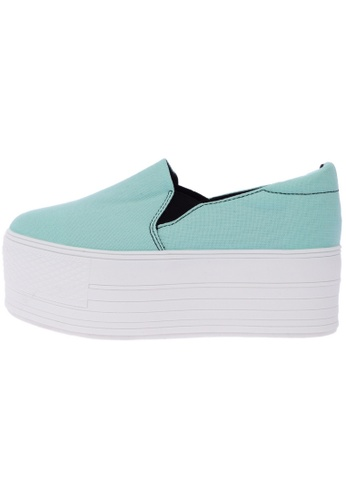 Maxstar C7 60 Synthetic Cotton White Platform Slip on Sneakers US Women Size MA168SH11DKMHK_1
