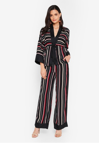 Lubna multi Straight Printed Co-Ord Set 614ECAA0620A09GS_1