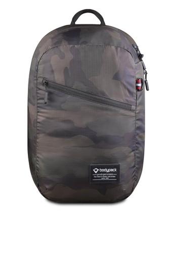 Bodypack green Bodypack Prodiger Denver Folded Backpack - Camo 74FABAC9247F6EGS_1