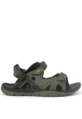 World Balance green Raven Trail Mens Sports Sandals AB838SHB29AD8CGS_1